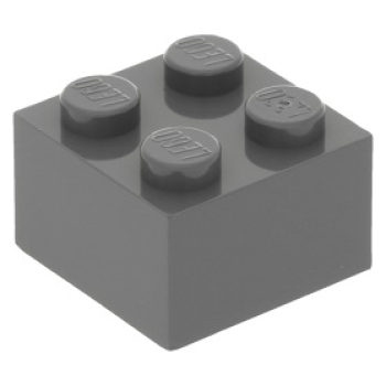2x2 - Brick - Darkbluishgray - 3003-09