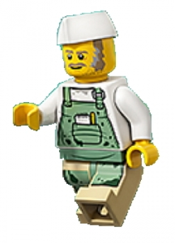 LEGO ® Minifigs-Hidden Side-hs027-chef ENZO 70422